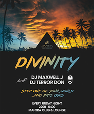 Mantra Club Lounge Divinity Friday