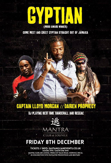 Gyptian LIVE at Mantra Club and Lounge